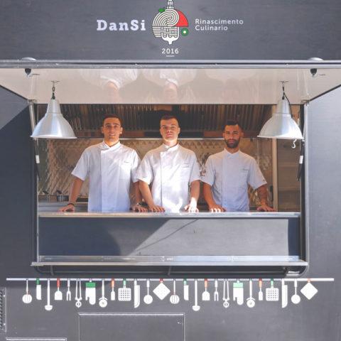 Gli Chef di DanSi. Un catering su quattro ruote